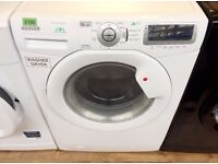 HOOVER White, 9KG , 1400, A Energy, Digital WASHER DRYER + 3 Months Guarantee + FREE LOCAL DELIVERY