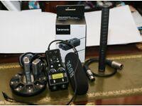 A RODE NTG1 SHORT CONDENSER MIC + Saramonic Smart Rig Audio Adapter +++