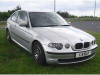 BMW 316i Ti COMPACT 1.8 MANUAL 69K MILES 12 MONTHS MOT 2004 '54'