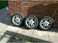 Fiat punto arbarth wheels