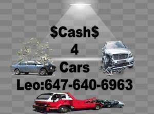 CASH FOR SCRAP CARS AND USED CARS * FREE SCRAP CARS REMOVAL * GET FREE OFFER NOW 647-640-6963