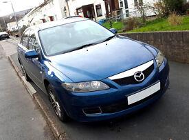 2007 Mazda 6 2.0 Diesel for Repairs
