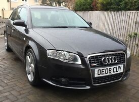 Audi A4 Avant 2.0 Tdi S Line Estate 5dr Diesel Manual