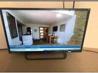"""Technica 32"""" dvd combi slim hd freeview tv. Great condition. With remote and stand"""