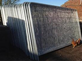 3.45M X 2M Heras Style Temporary Fencing Panels 🔩