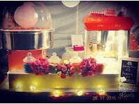 Candy Floss, Popcorn, Chocolate Fountain & Candy Cart Special Offers for Christmas Parties!