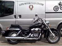 LOVELY 2006 HONDA VT750 C-6 SHADOW ONLY 7230 MILES, 1 LADY OWNER,2-1 EXHAUSTS