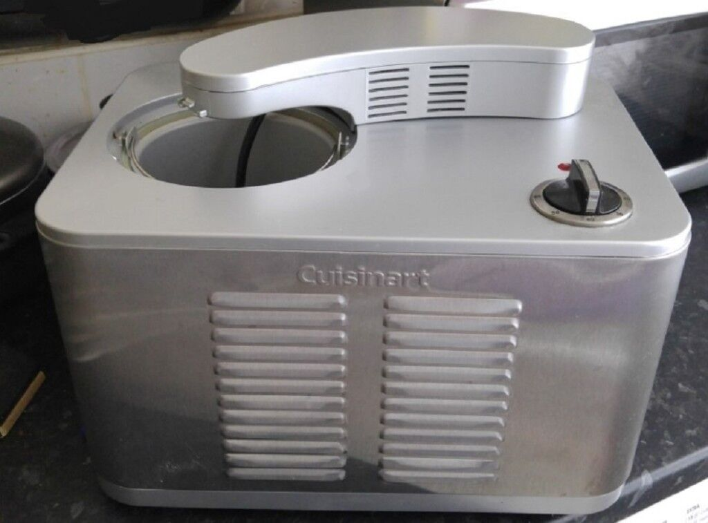 A Cuisinart Ice 50bc Supreme Cream Maker Boxed Hardly Great Condition
