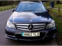 Mercedes-Benz C220 BlueEfficiency, Estate, 2012, low mileage.