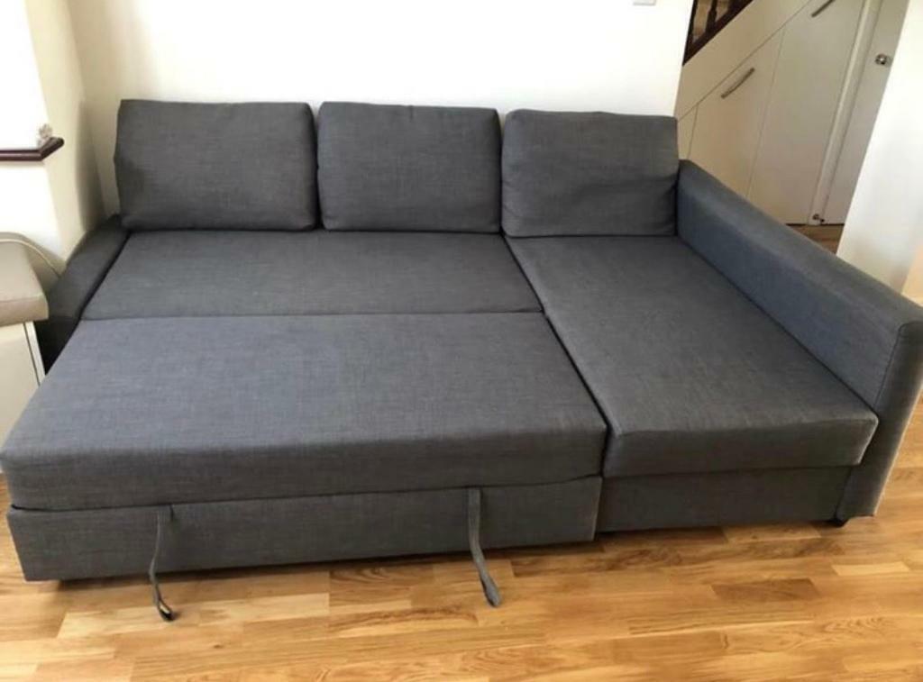 Ikea Friheten Grey Sofa Bed Great
