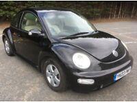 Volkswagen Beetle 1.6 petrol, MOT Aug 18 No Advisories, FSH