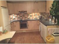 Howdens Beech Kitchen Units & Appliances