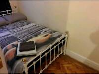Metal Framed Small Double Bed incl. Mattress