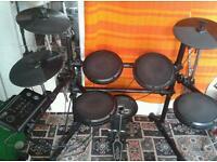 Electric drum kit black mamba.