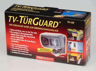 Pentatech TV TürGuard TV-150 mit integriertem Bewegungsmelder Überwachungskamera