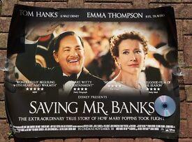 SAVING MR. BANKS - DISNEY POSTER - TOM HANKS - EMMA THOMPSON - Mary Poppins