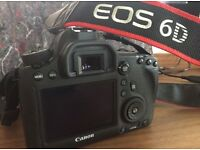 Canon EOS 6D Body ONLY - full frame + remote and SD card / 6560 shutter count!