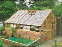 Softwood/Cedar Greenhouses