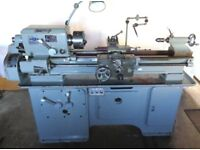 Gromatic Lathe, type 140 in great condition; precision tool room machine.