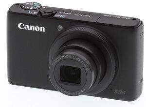 Canon PowerShot S95 with Two Batteries