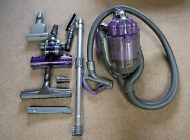 Dyson DC08 Animal with all Attachments - Burnt out motor for Spares or Repair