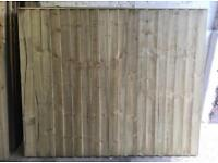 🍭Straight Top New Feather Edge Fence Panels • Excellent Quality