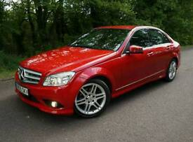 2009 mercedes c220 cherry Red AMG