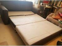 John Lewis Suede Sofa Bed. Was £850 now only £180. *Delivery available*