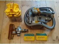 Dyson DC11, in good working order, with spare filter and manual