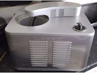 A Cuisinart ICE-50BC Supreme Ice Cream Maker - Hardly Used - Great condition