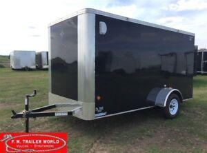 2017 Royal Cargo 6x12 LT   Single Axle   Barn Door   Cargo   Bla