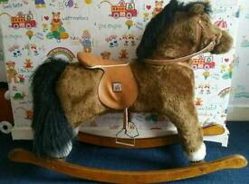 Mamas&Papas rocking horse toy big