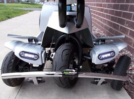 Mobility Scooter Quingo Toura Version 2 Heated Grip's 2017 New 17 Plate