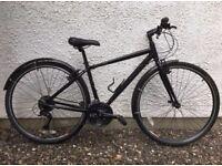 "Ridgeback Velocity 'Commuter' / 'Hybrid' Unisex Bike. 17"" Small / Medium. Excellent Condition."