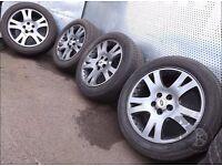 "Range Rover Sport (2005-2013) 19"" 4x Alloy Wheels + Tyres 255/50 R19 ref.AC26"