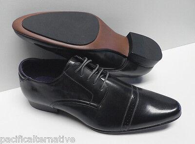 Costume Gris Pour Homme (Chaussures gris foncé pour HOMME taille 43 costume de mariage cérémonie #ELG-031)