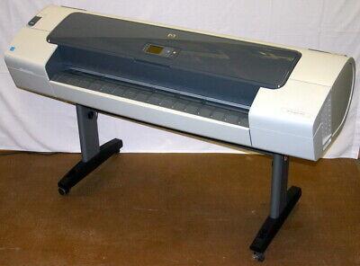 Hp Hewlett Packard 44 Inch Designjet T610 Wide Format Color Plotter Printer