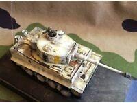 RARE DRAGON ARMOUR MICRO X TECH 1/72 TIGER 1 WW2 RC TANK GERMAN ARMY SECOND WORLD WAR WWII MILITARY