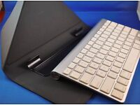 Apple wireless keyboard with Incase Origami Workstation