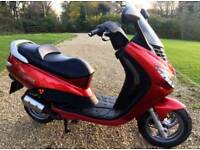 2002 Peugeot Elystar 50cc scooter moped