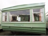 2 BEDROOM STATIC CARAVAN - ONLY £1950!!