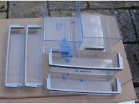 Bosch KIN32A50GB 50:50 splt Built in Fridge Freezer Parts