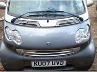 Smart car, for two, Silver Colour, year 2007 for Quick Sale