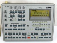 Korg I40 M Sound and Rhythm Module with EC5 Multifunction Pedals