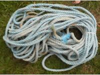 Rope for Mooring Anchor for Boat Dinghy Tender Yacht x 100ft