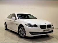 BMW 5 SERIES 2.0 520D SE 4d AUTO 181 BHP + 1 PREV OWNER + SERVICE HISTORY (white) 2010