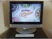 """15"""" Wharfedale LCD TV with built in DVD player"""