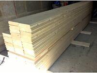 Pine planks interlocking beautiful (non treated)