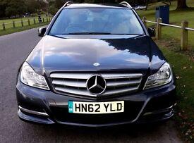 Mercedes Benz C220 CDI Estate. Dec. 2012. Low mileage. Like New.