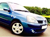 LOVELY IMMACULATE CLIO. WELL SERVICED. LOW MILEAGE. GREAT PRICE.